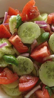 Marinated Cucumbers, Onions and Tomatoes Salad – You've Never Truly Enjoyed Cucumbers Until You've Made Them Like This