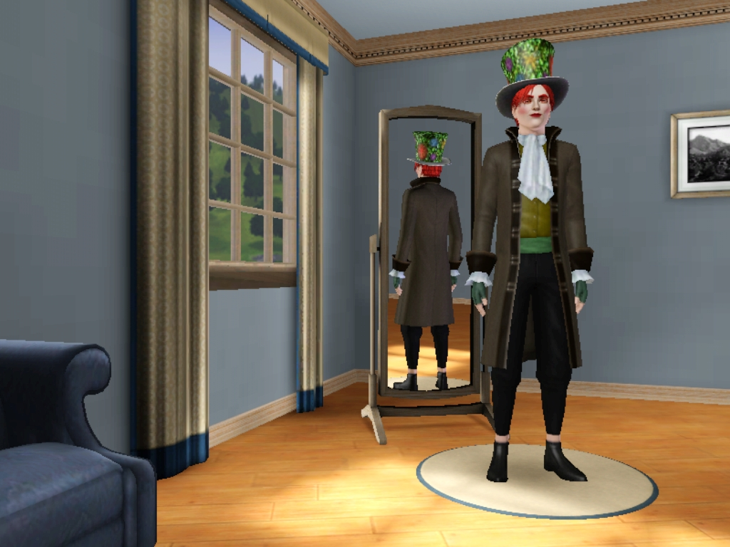 Der Kreative SimsBlock: Hutmacher (Alice Im Wunderland