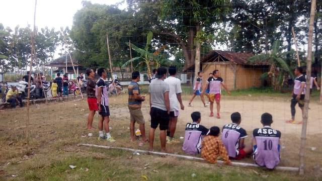 Turnamen Bola Voli Antar Desa di Sundoluhur Kayen Pati