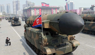 North Korean Ballistic Missile Launch FAILS: Kim Jong-Un launches New 'Game Changer Missile' Hours After It Was Introduced At A Military Parade - But It BLOWS UP Almost Immediately In Embarrassing Failure