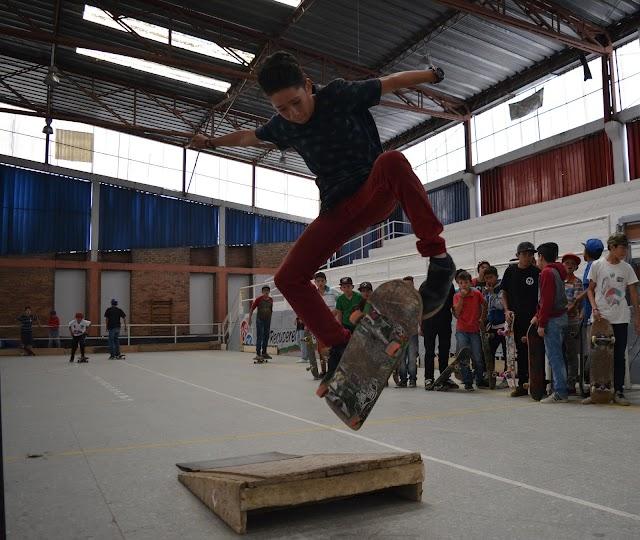 Skaters celebraron en Facatativá el día mundial del skateboarding