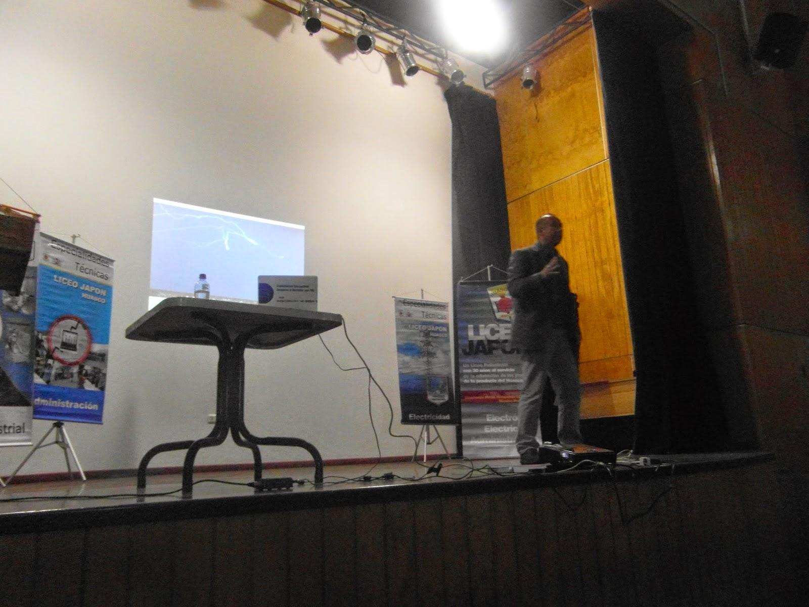 Liceo Japón Huasco Chile Charla Motivacional De Ivan Guerrero
