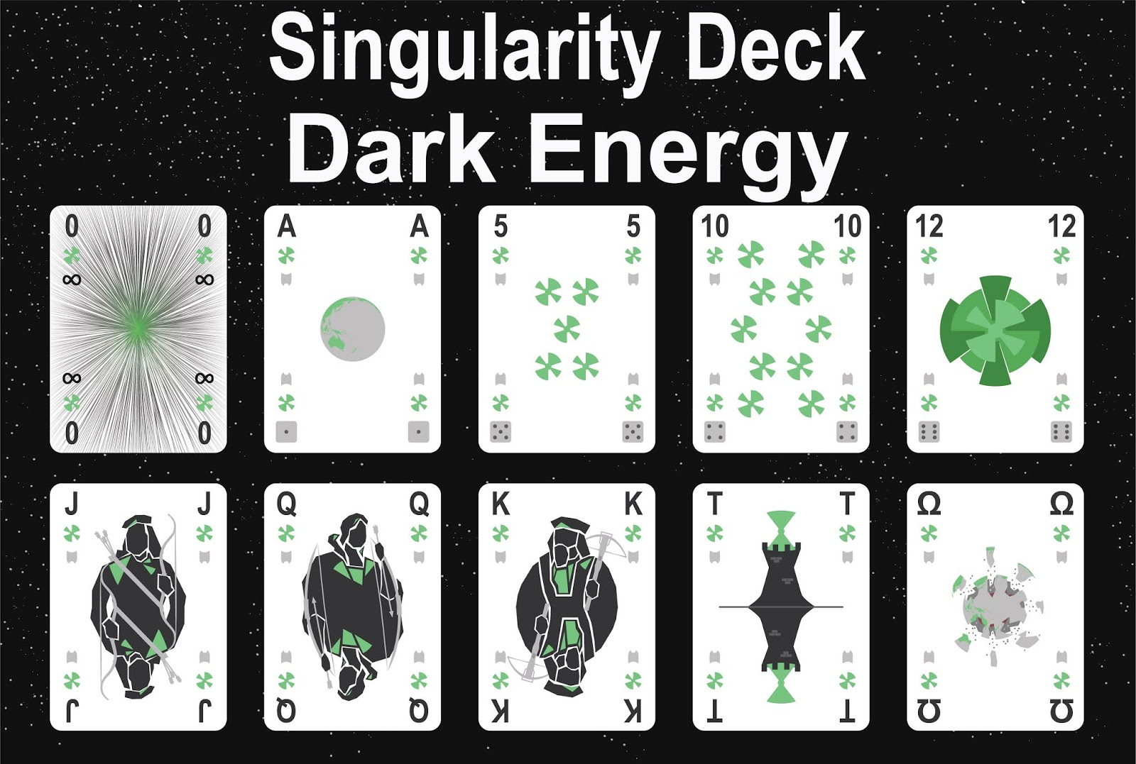 The Singularity Deck - Dark Energy Art