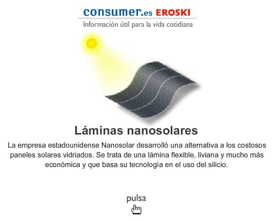 LAMINAS NANOSOLARES