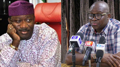 Fayose Taunts APC Candidate Fayemi, says he'll be defeated again