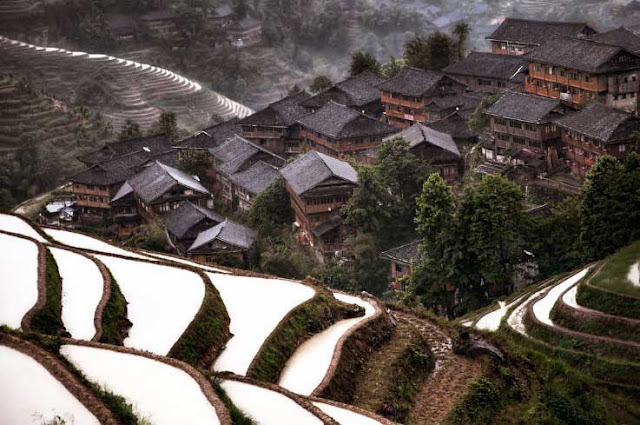 Hidden Mountain Village, China