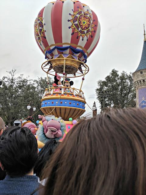 Celebrating my Birthday at the Magic Kingdom - Magic Kingdom Parade - Mickey and Minnie