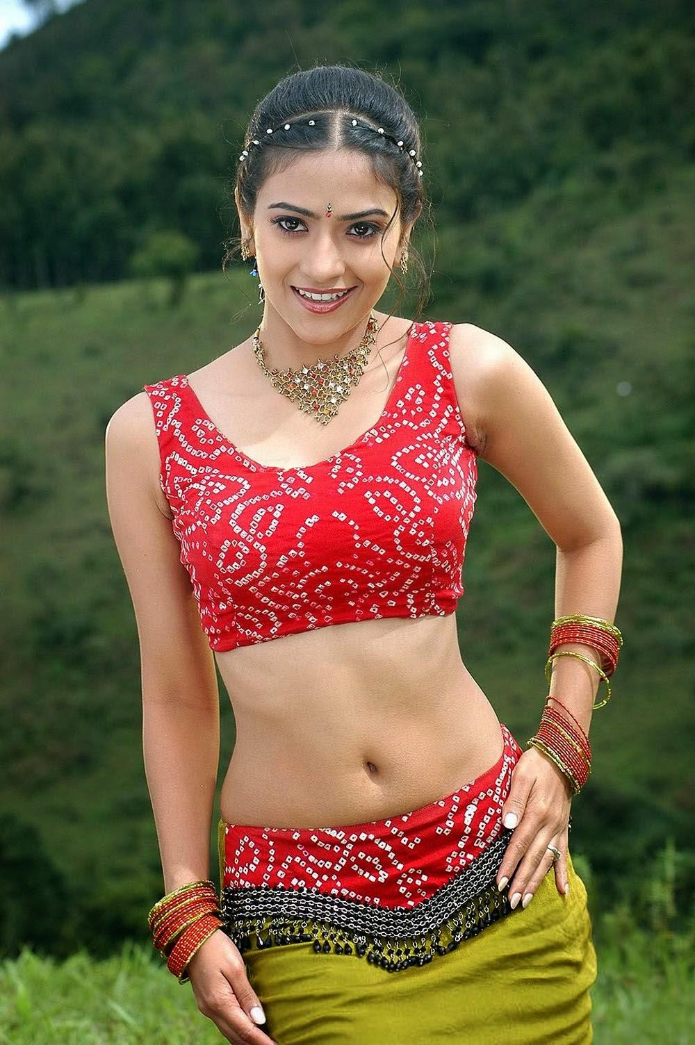 Actress Hot Images Aditi Sharma Hot Navel Images