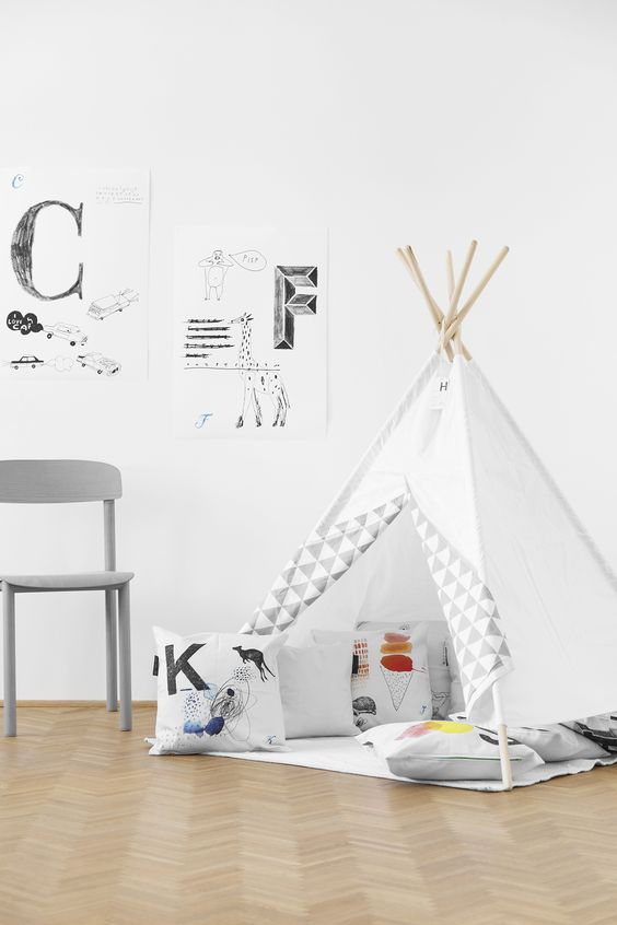 wigwam for kids room decor