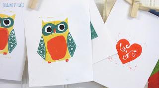 stage enfants gravure dessin loisir créatif artistique adultes