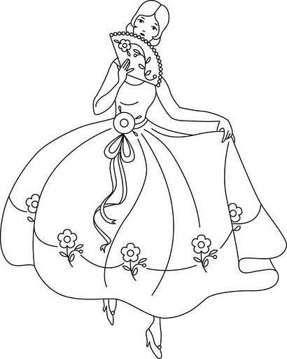 desenhos para colorir desenhar e pintar desenhos de menina para