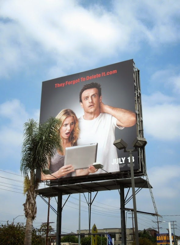 They forgot to delete it Sex Tape billboard