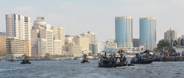 view of Deira with the Twin Towers