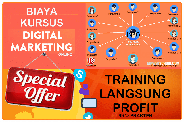 BIAYA KURSUS DIGITAL MARKETING MURAH