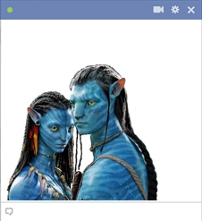 Avatar emoticon for Facebook