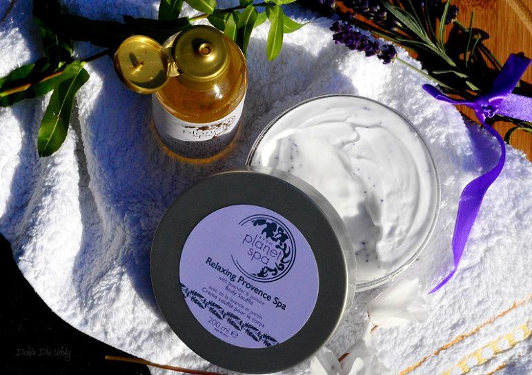 Avon Planet SPA olejek do kąpieli i pod prysznic Relaxing Thailand oraz mus do ciała Relaxing Provence recenzja