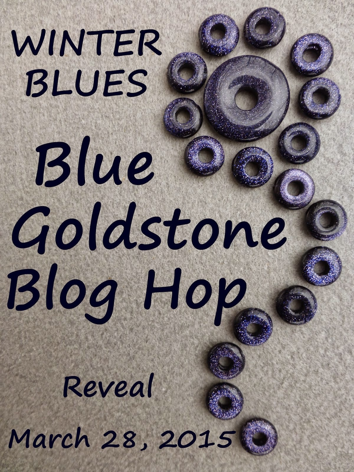 Winter Blues Blue Goldstone Blog Hop