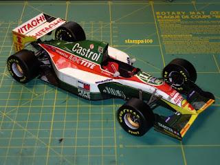 Lotus 107B - Alessandro Zanardi  (GP Monaco 93) M. Fabian