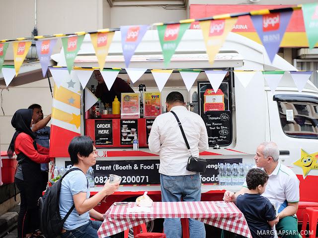 Weekend Bazar di Acara Peresmian BNI KCP Ancol di Aston Marina Ancol