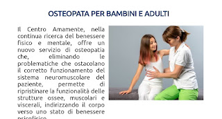 osteopatia pediatrica Milano