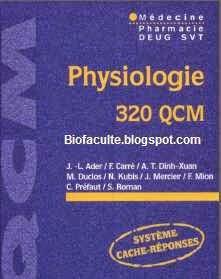 Physiologie qcm