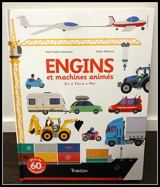 couverture du livre Engins et machines animées