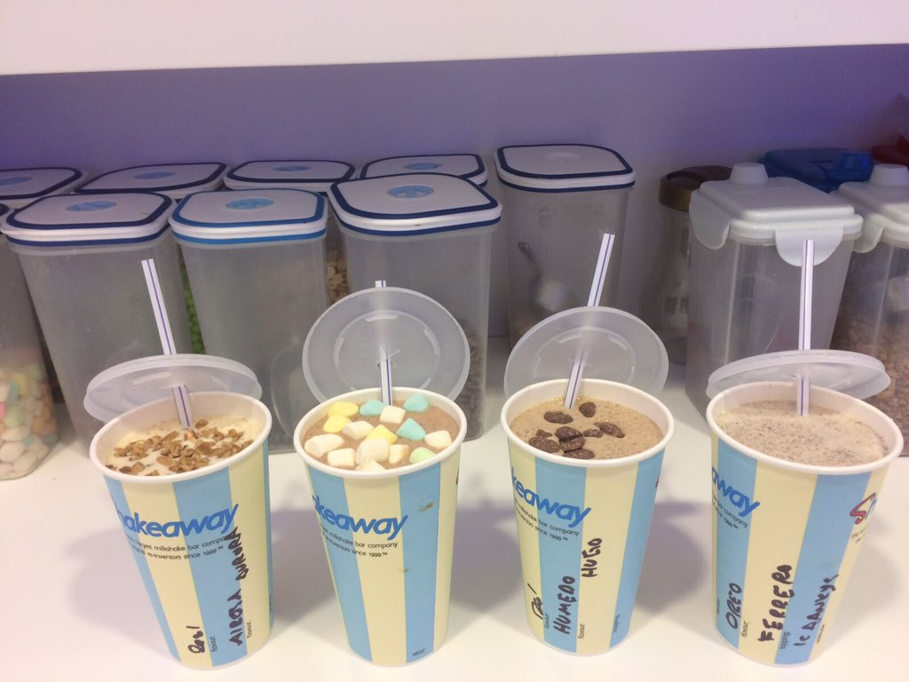 Shakeaway Menu and Price List UK 2017