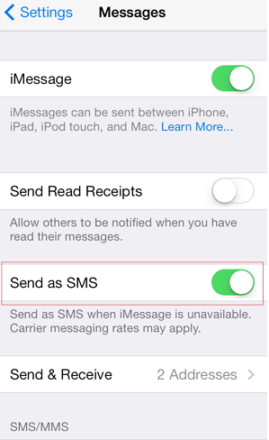 My iMessages Sent as Texts? Here's Why and How to Fix