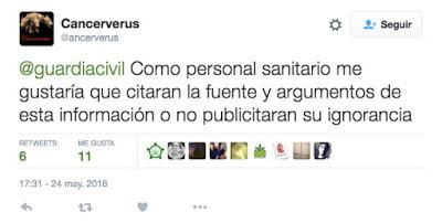 #ElCannabisSeQueda tweet  cancerverus
