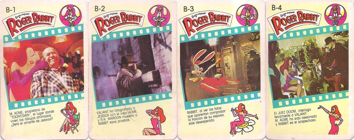 Barajas y Naipes: Quién engañó a Roger Rabbit