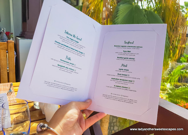 menu at GourMed Brunch The Cove Rotana