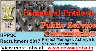 hppsc-Project-Manager-Acharya-Various-Vacancies