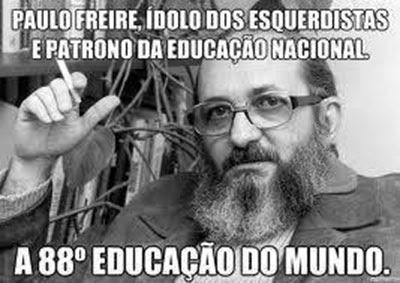 A NECESSÁRIA DESCONSTRUÇÃO DE PAULO FREIRE