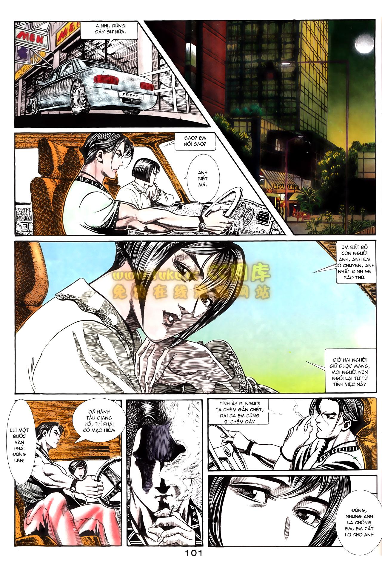 Người Trong Giang Hồ chapter 162: cưa đại tẩu trang 25
