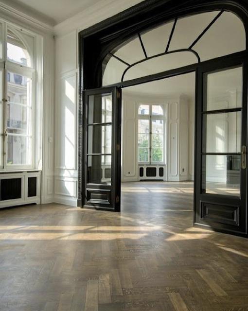 Empty Paris apartment