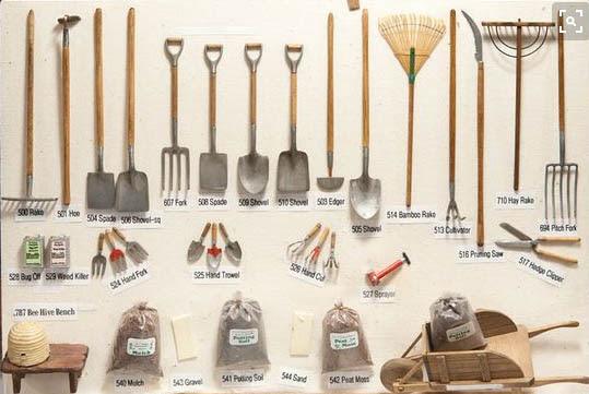 Amis du jouet ancien et du patrimoine miniature for Objet de jardinage