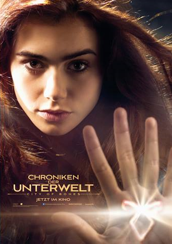 New German MORTAL INSTRUMENTS Poster Featuring Clary Fray ...