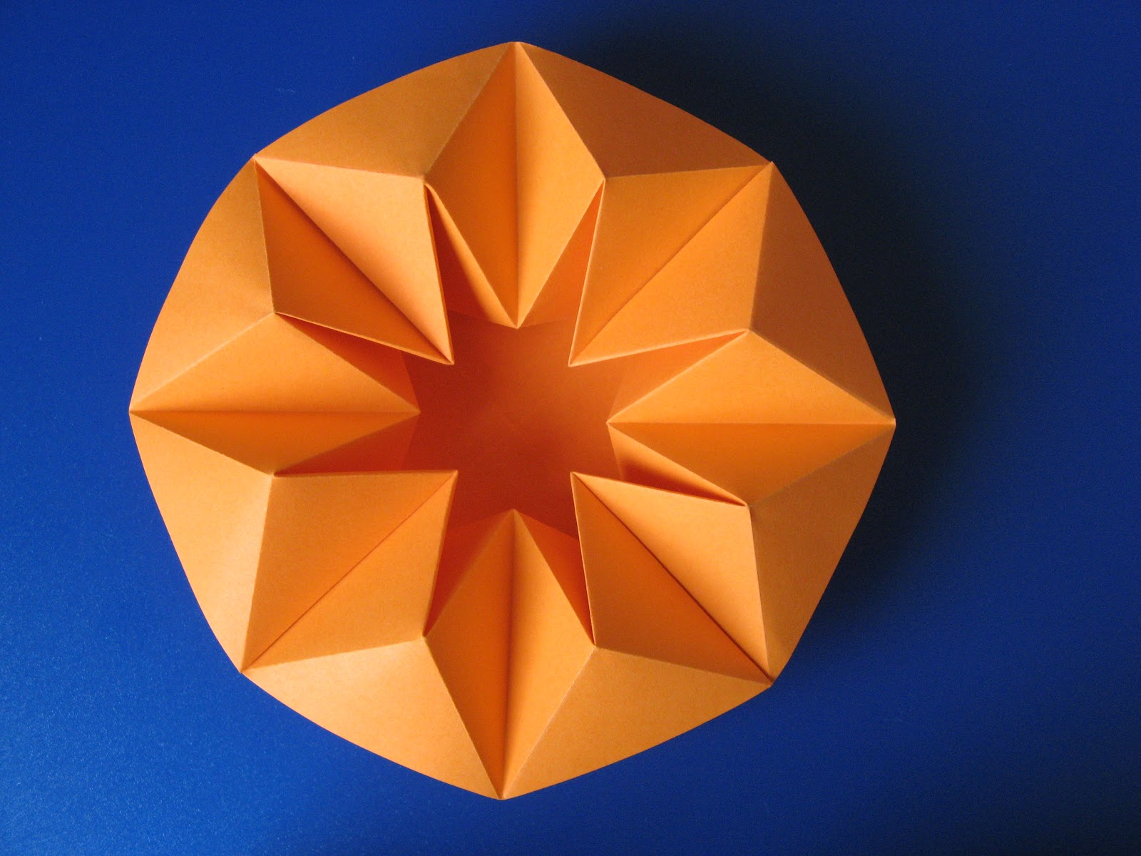 3d origami flower vase instructions