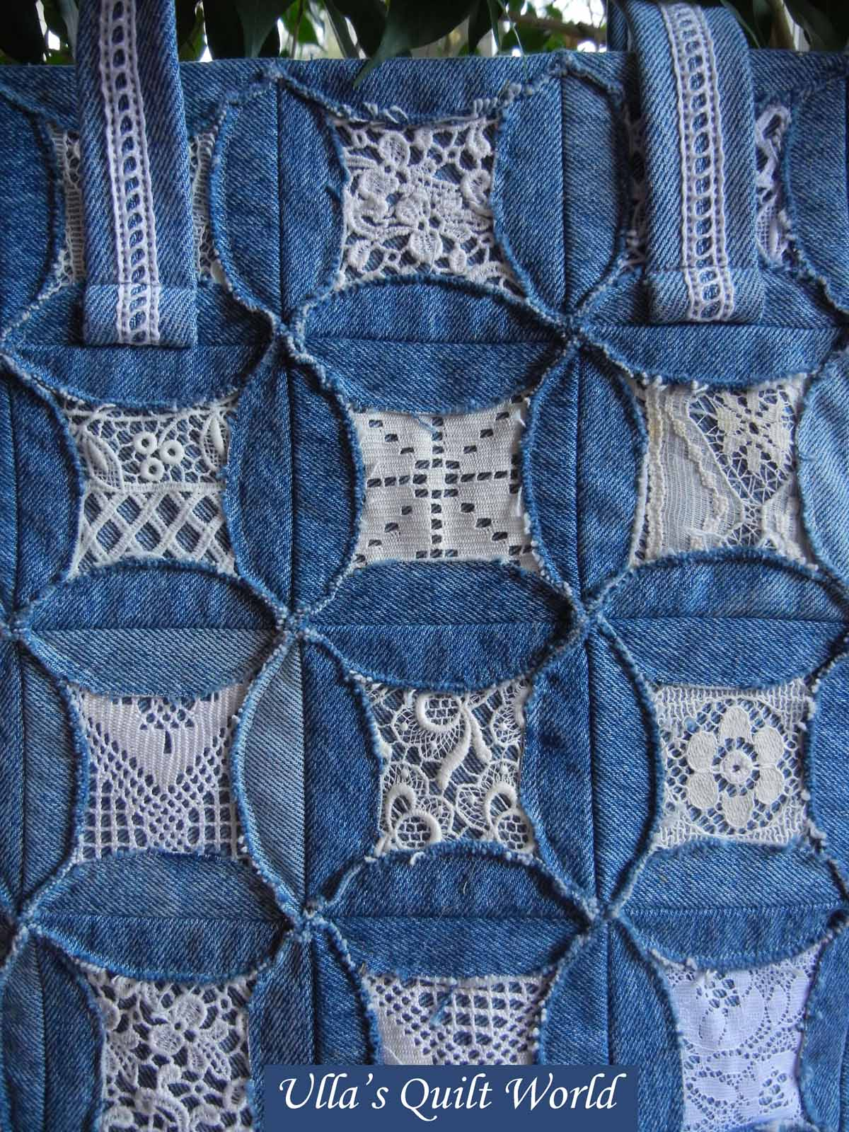 Ulla S Quilt World Quilted Pouch And Bag Cathedral