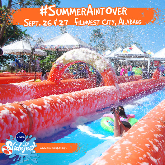 Summer Fun Feels at NIVEA Slidefest This September 26 & 27