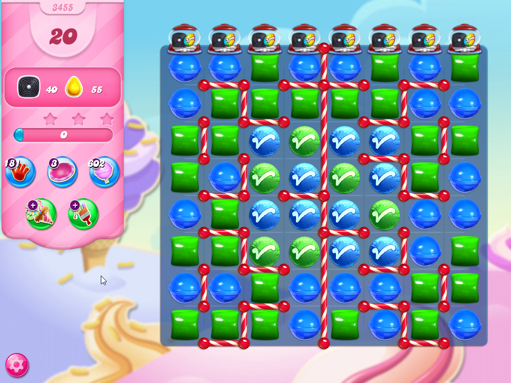 Candy Crush Saga level 3455