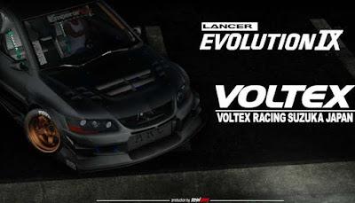 Mitsubishi Lancer Evolution IX Voltex Edition
