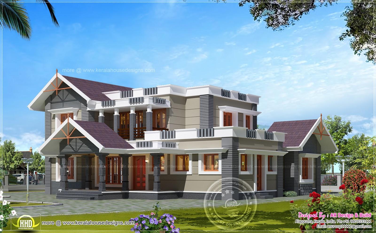 bhk house exterior design sq feet home kerala plans kerala home plan elevation sq ft kerala home design