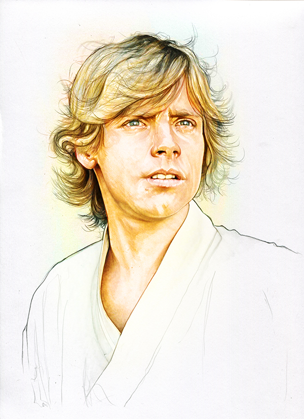 16-Mark-Hamill-Luke-Skywalker-Corbyn-S-Kern-Game-of-Thrones-Star-Trek-and-Star-Wars-Character-Drawings-www-designstack-co