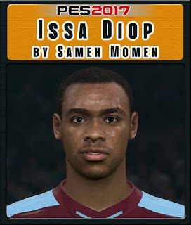 PES 2017 Faces Issa Diop by Sameh Momen