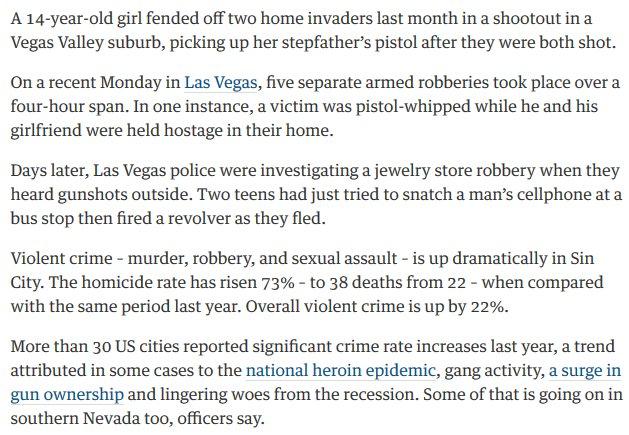 Vegas Crime