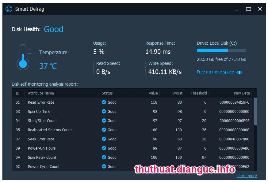 Download IObit Smart Defrag Pro 6.0.1.116 Full Cr@ck – Phần mềm chống phân mảnh ổ cứng