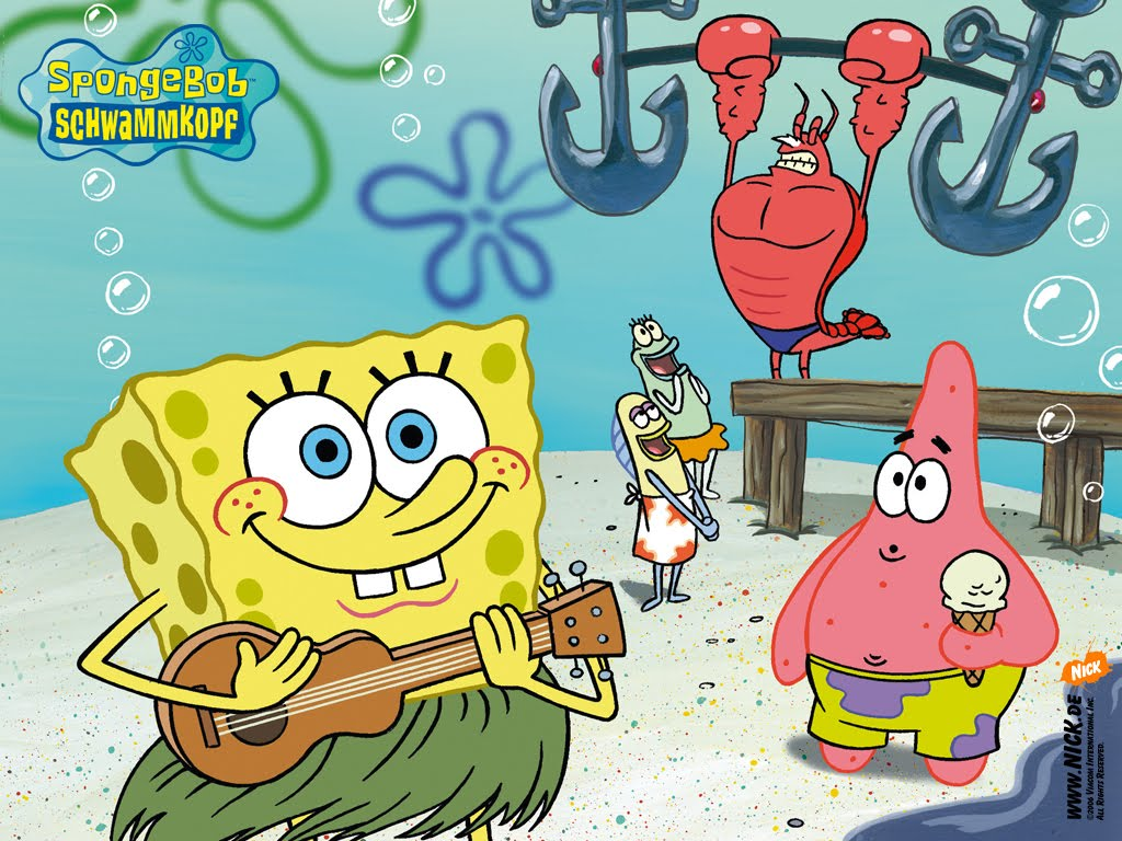 Adela Watkins Spongebob Squarepants Background
