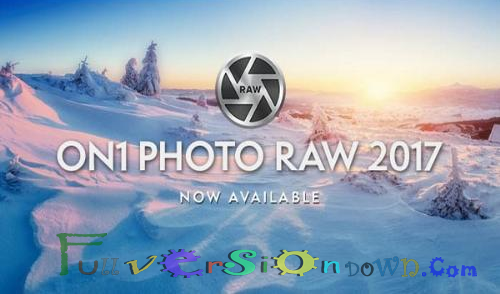 ON1 Photo RAW 2017 Full Version