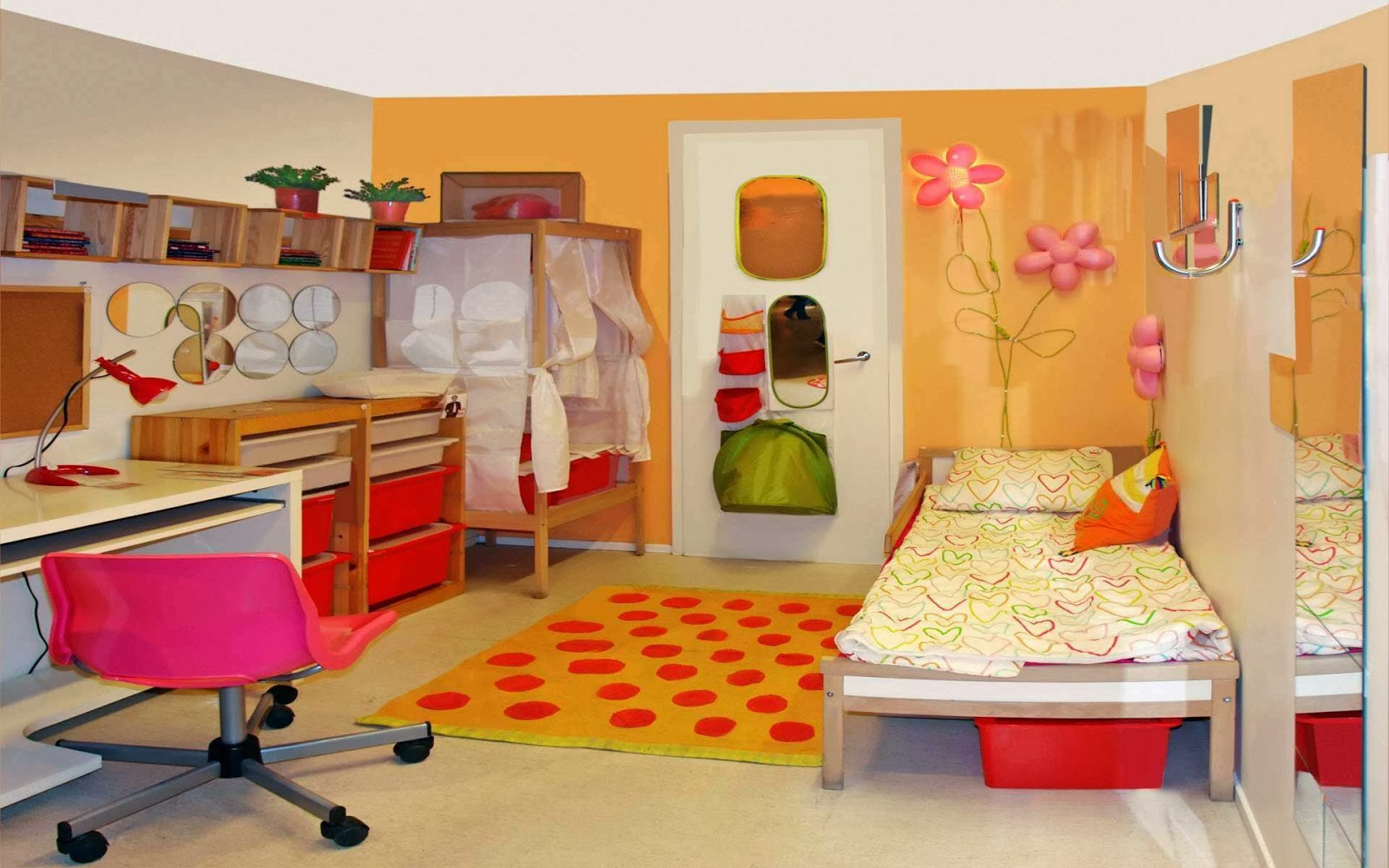 Home Decorating Interior Design Ideas: Fun Kids Room Decorating ...